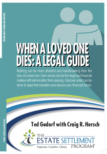 Cover for when a loved one dies book