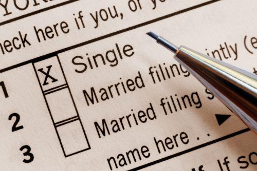 Tax Bracket Checkboxes on Tax Return