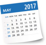 May 2017 calendar page: Elder Law Month